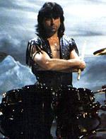metal rock music drummer Cozy Powell