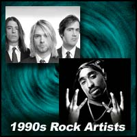 Nirvana and 2Pac
