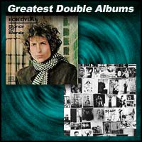 album covers Blonde On Blonde and Exile On Main St.