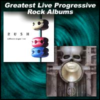 Greatest Live Progressive Rock Albums