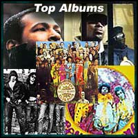 Top 5 Albums image with five album covers