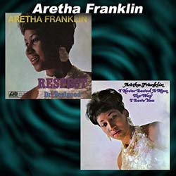 2 Aretha Franklin single covers