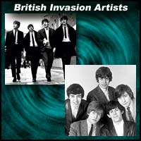 British Invasion Artists