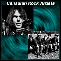 Canadian Rock Artists