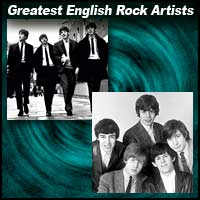 Greatest English Rock Artists