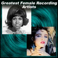 Greatest Female Recording Artists