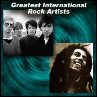 Greatest International Rock Artists