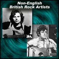 Greatest Non-English British Rock Artists
