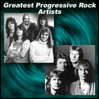 "Progressive rock bands ""Yes"" and ""King Crimson"""
