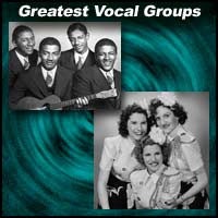 Mills Brothers and Andrews Sisters