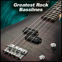 Greatest Rock Basslines