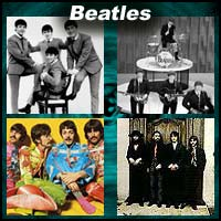 "English rock music band ""Beatles"""