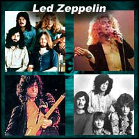 "English rock music band ""Led Zeppelin"""