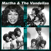 Four pictures of Martha and The Vandellas