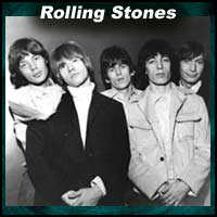 "English rock music band ""Rolling Stones"""