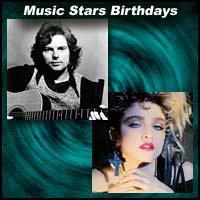 Music Stars Birthdays