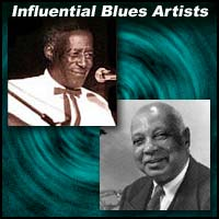 Blues musicians Son House and W.C. Handy