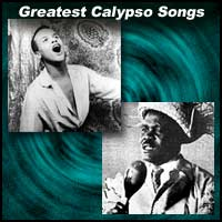 Calypso singers Harry Belafonte and Lord Invader