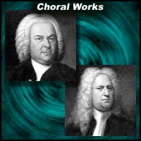 Johann Sebastian Bach and Georg Friedrich Handel