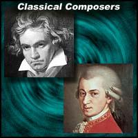 Ludwig Van Beethoven and Wolfgang Amadeus Mozart