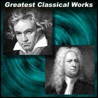 Classical nusic composers Ludwig Van Beethoven and George Frideric Handel