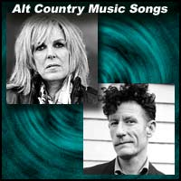 Lucinda Williams and Lyle Lovett