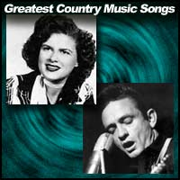 Patsy Cline and Johnny Cash