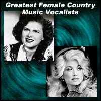 Patsy Cline and Dolly Parton