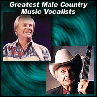 Greatest Male Country Music Vocalists