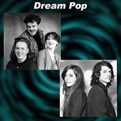 Two Dream Pop music artists Cocteau Twins and Beach House