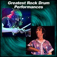 Greatest Rock Drum Performances
