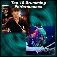 Top 10 Drumming Performances