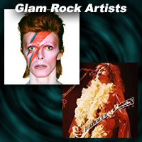 Greatest Glam Rock Artists