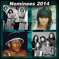 Music artists Chic, Linda Ronstadt, LL Cool J, and Deep Purple
