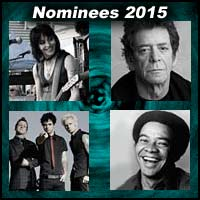Joan Jett, Lou Reed, Green Day, and Bill Withers
