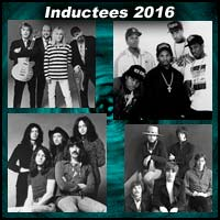 Rock 'n' Roll artists Cheap Trick, N.W.A, Deep Purple, and Steve Miller