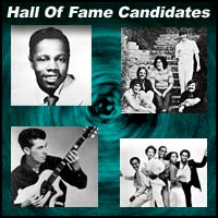 Four pictures of unlikely Rock And Roll Hall of Fame candidates