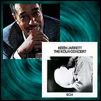 album covers Ellington At Newport 1956 and The Köln Concert