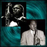 Saxophonistsn John Coltrane and Charlie Parker