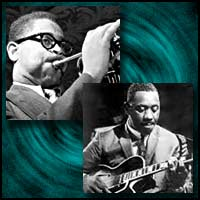 Dizzy Gillespie and Wes Montgomery