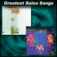 Two Salsa record sleeves