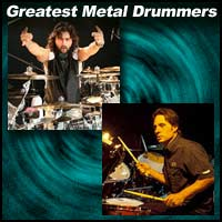 Metal Drummers Mike Portnoy, Dave Lombardo