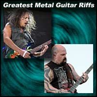 Greatest Metal Guitar Riffs