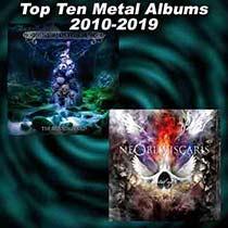 Top Ten Metal Albums Of Each Year - 2010-2019