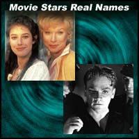 Movie Stars Real Names