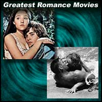 "Scene from movies ""Romeo and Juliet"" and ""From Here to Eternity"""