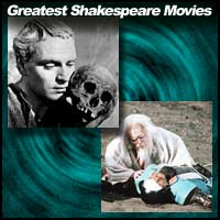 "Scenes from the movies ""Hamlet"" and ""Ran"""