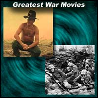 Scenes from movies Apocalypse Now and All Quiet On The Western Front