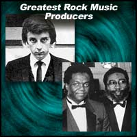 Rock Music Producers Phil Spector and Brian Holland and Lamont Dozier