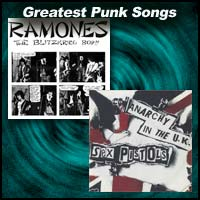 Greatest Punk Songs